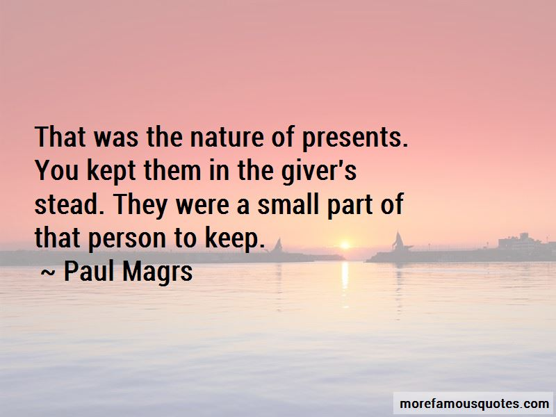 Small Presents Quotes Pictures 4