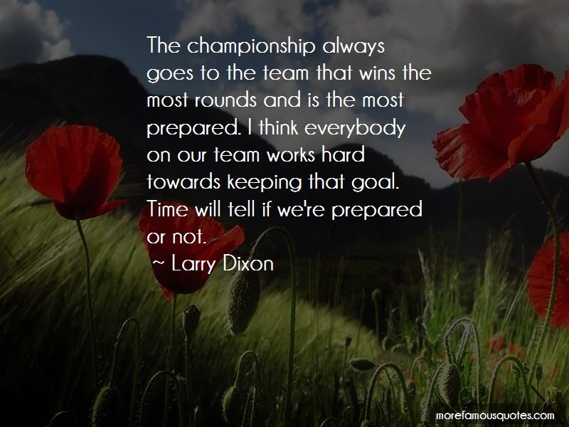 Quotes About Team Works