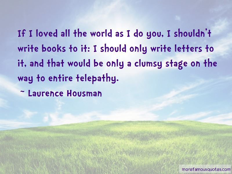Quotes About Telepathy