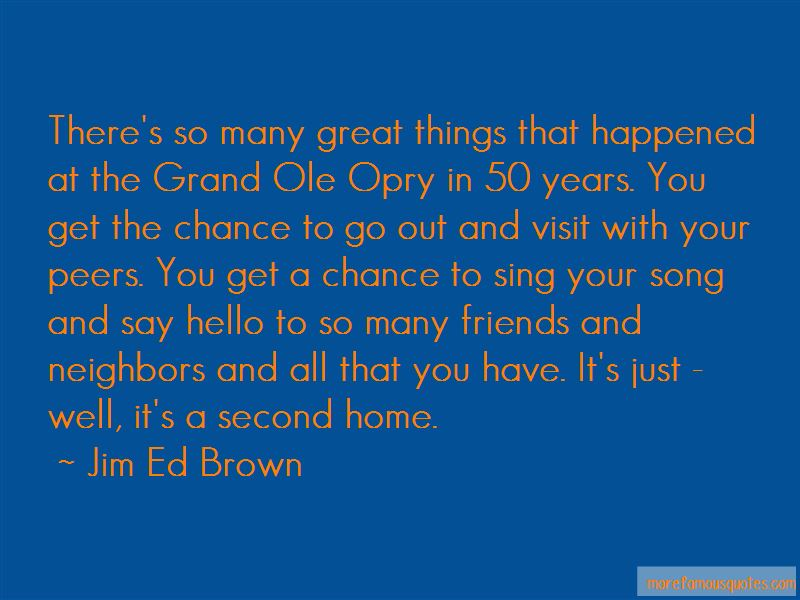 Quotes About The Grand Ole Opry