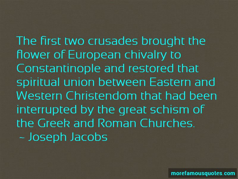 Quotes About The Great Schism