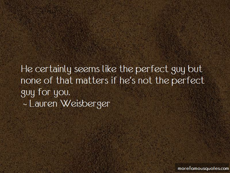 The Perfect Guy Quotes Pictures 4
