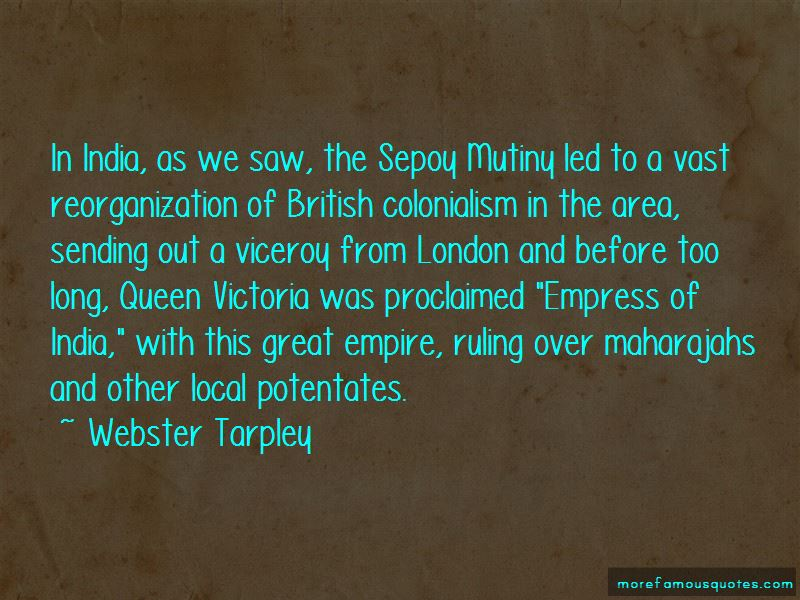 Quotes About The Sepoy Mutiny