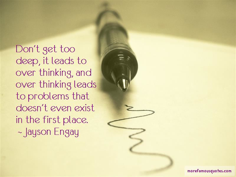Thinking Too Deep Quotes Pictures 4