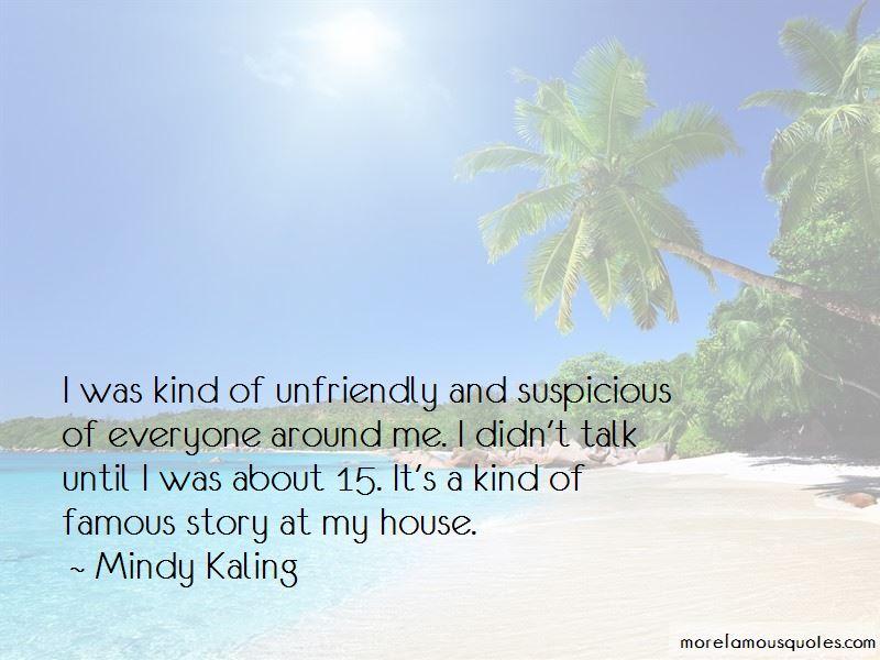 Quotes About Unfriendly