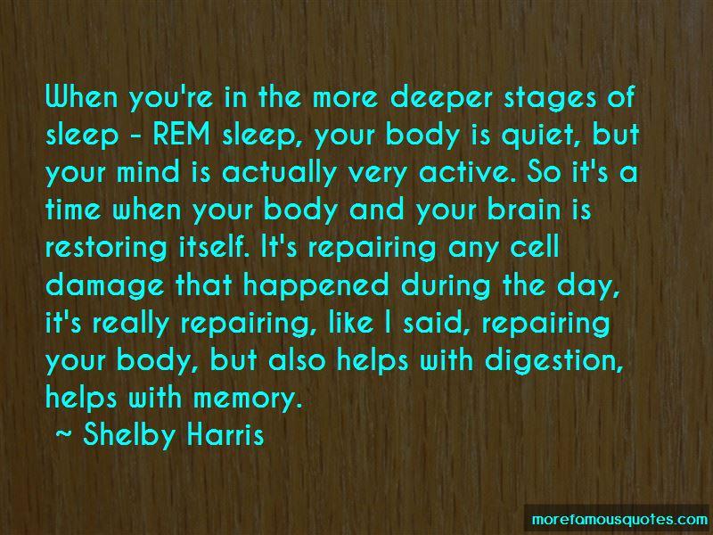 Rem Sleep Quotes