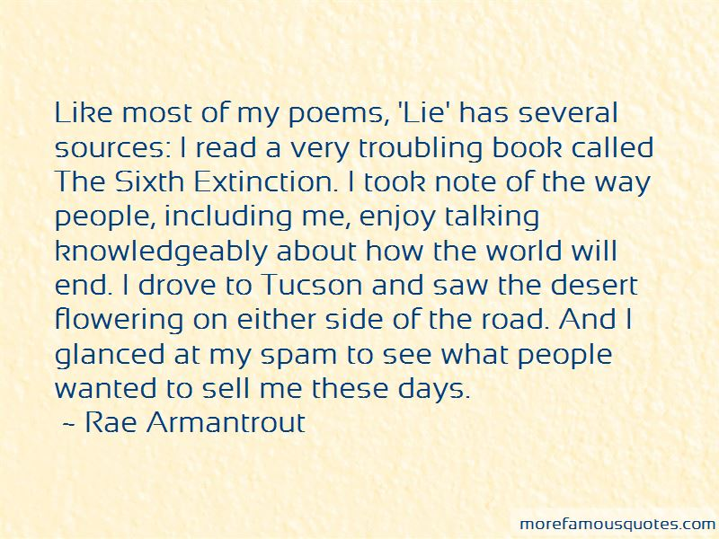 The Sixth Extinction Quotes Pictures 2