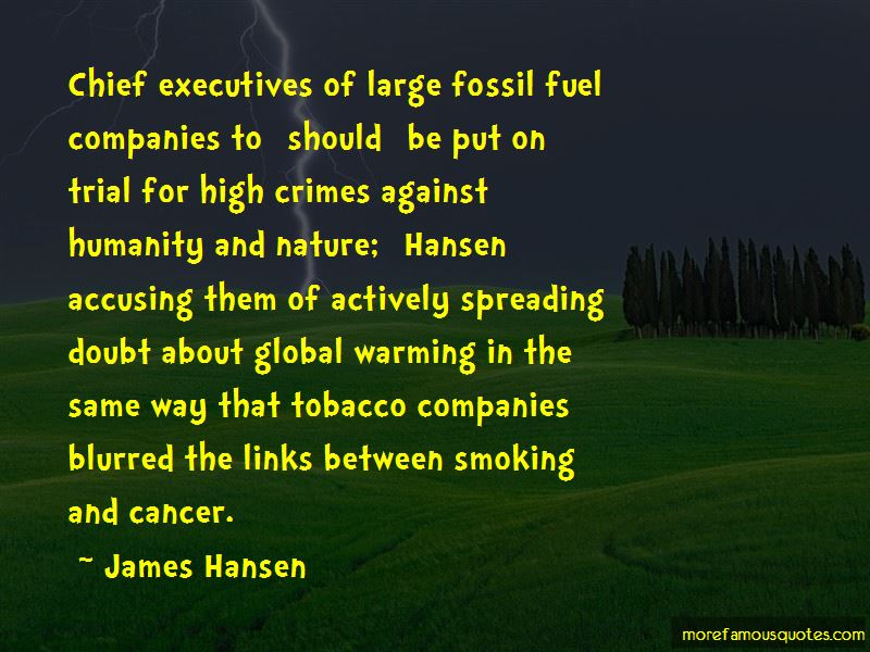 Tobacco Executives Quotes