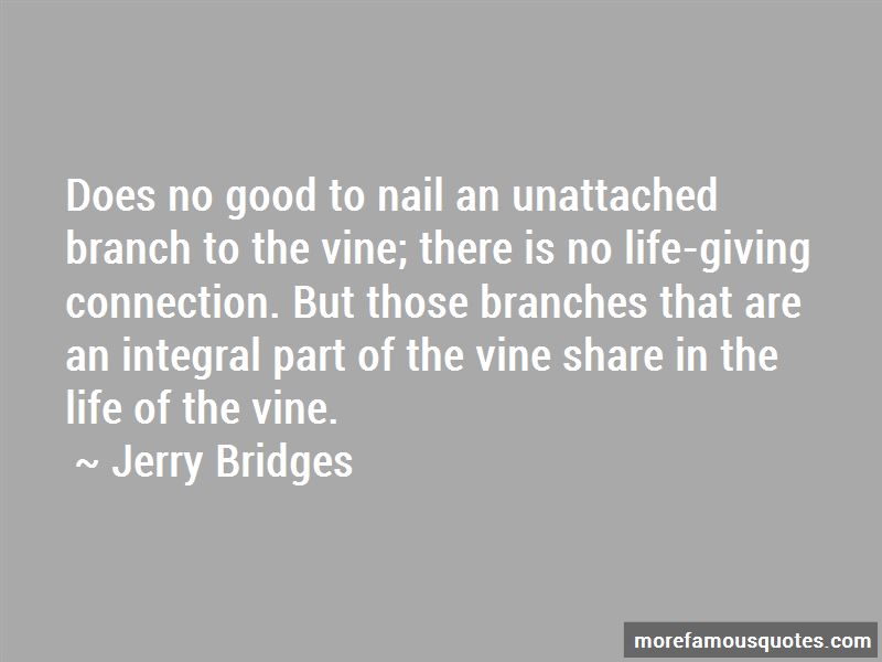Vine And Branches Quotes