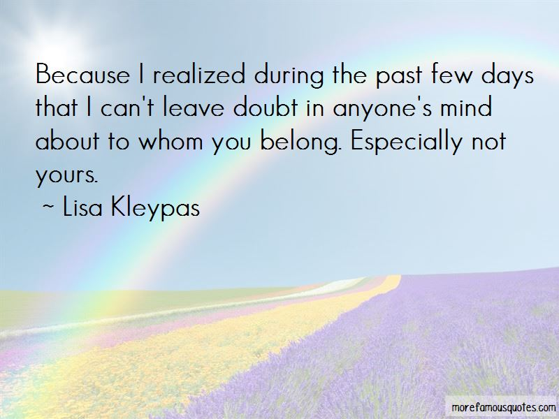 You Belong To The Past Quotes Pictures 4