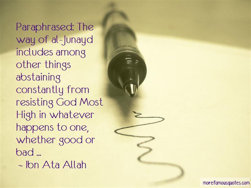 Al Junayd Quotes