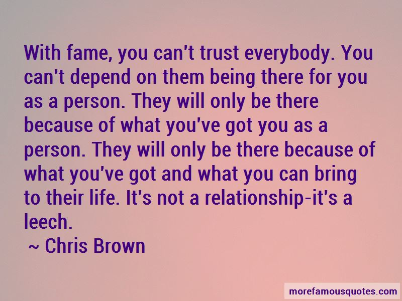 Can't Trust Everybody Quotes
