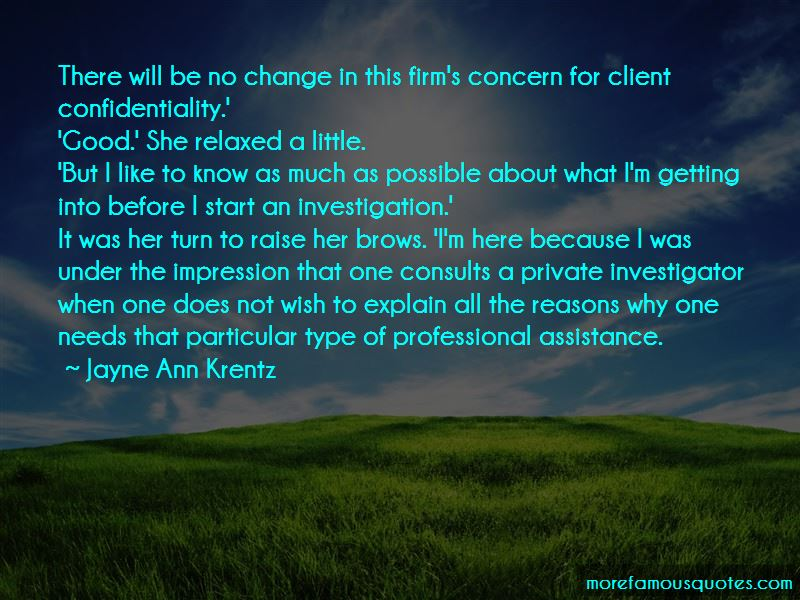 Client Confidentiality Quotes