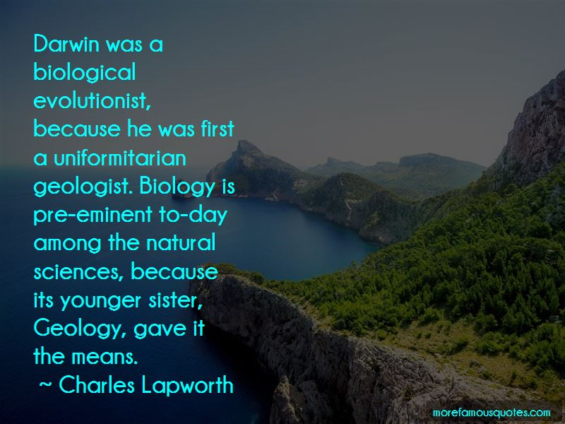 Darwin Geology Quotes