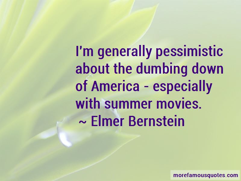 Dumbing Down Of America Quotes