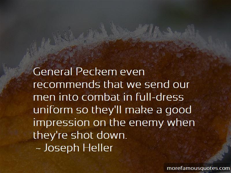 General Peckem Quotes Pictures 2