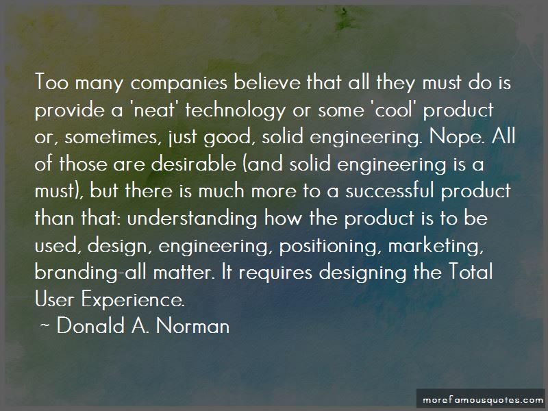 Good Product Design Quotes