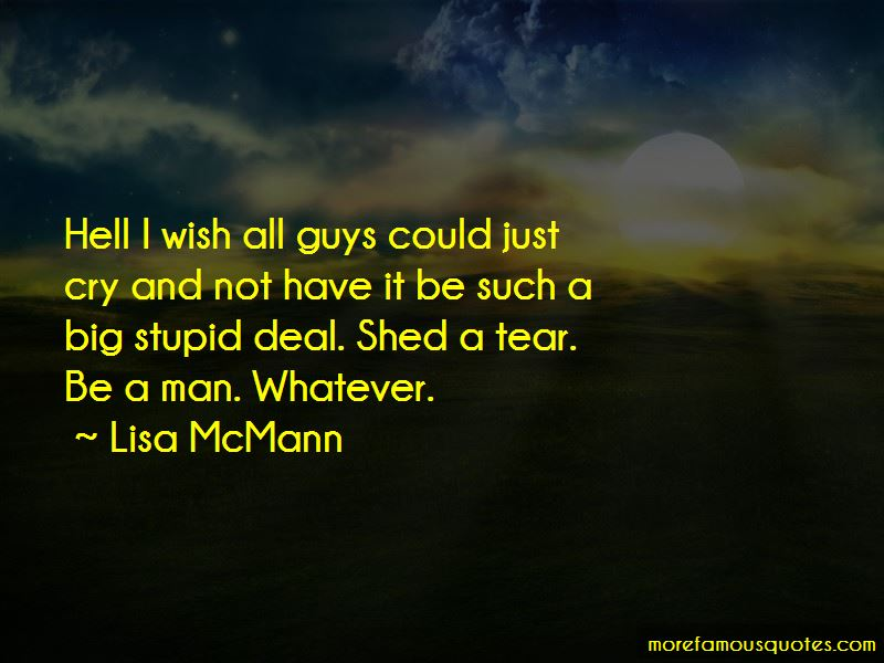 Guys That Cry Quotes Pictures 2