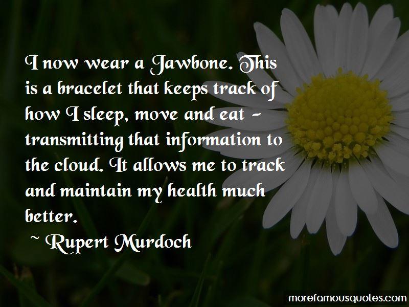 How I Sleep Quotes
