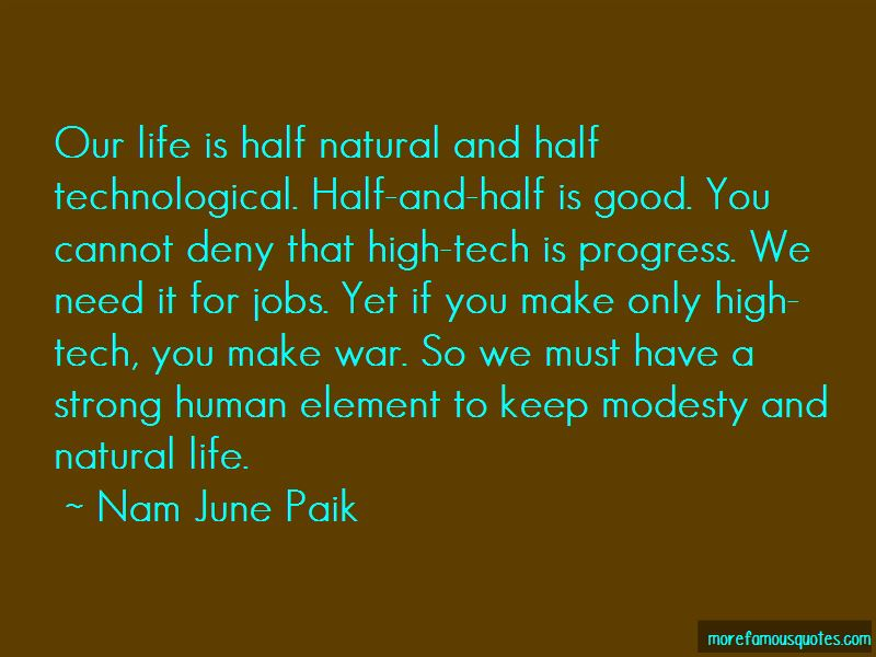 Human Element Quotes
