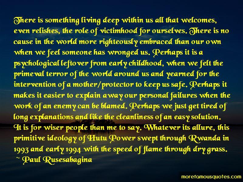 Hutu Power Quotes