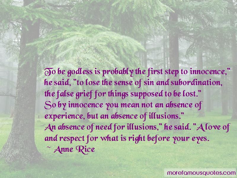 Innocence In The Eyes Quotes
