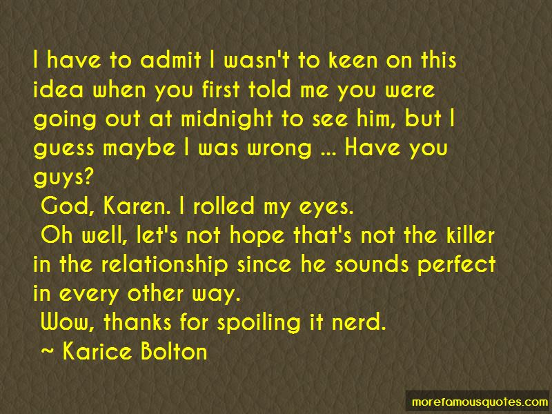 Not So Perfect Relationship Quotes
