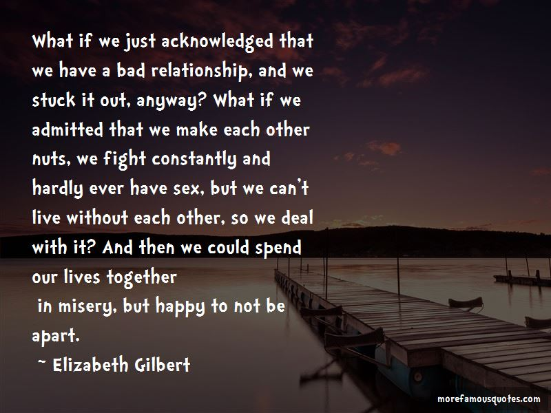 Quotes About A Bad Relationship