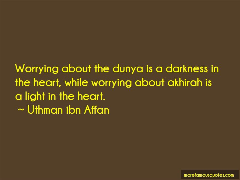 Quotes About Akhirah
