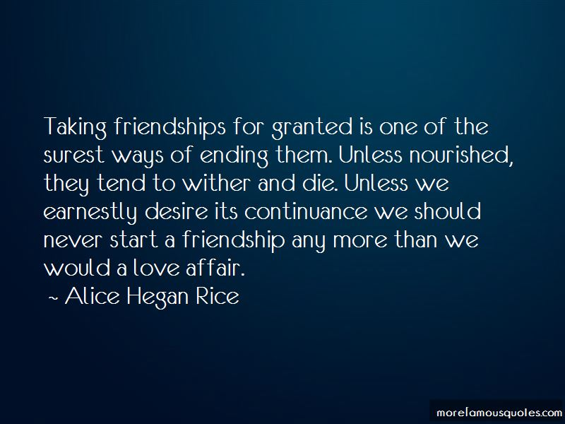 Quotes About An Ending Friendship