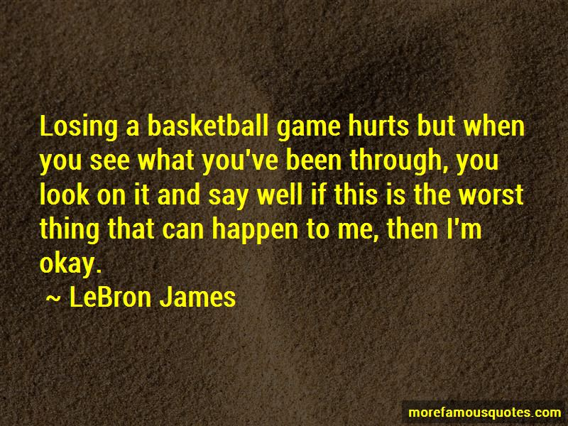 Basketball Losing Quotes Pictures 2