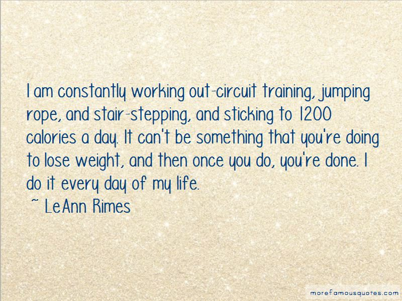 Quotes About Circuit Training