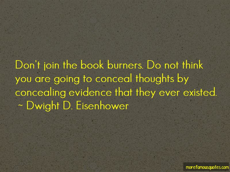 Quotes About Concealing Thoughts