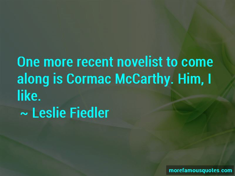 Cormac Mccarthy Quotes Pictures 2