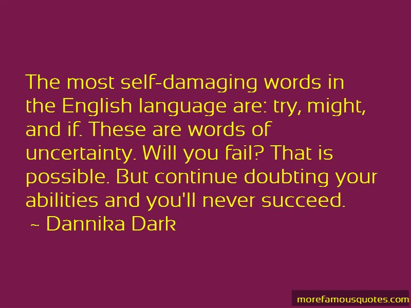 Quotes About Damaging Words