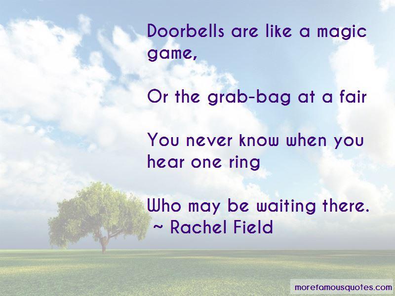 Quotes About Doorbells