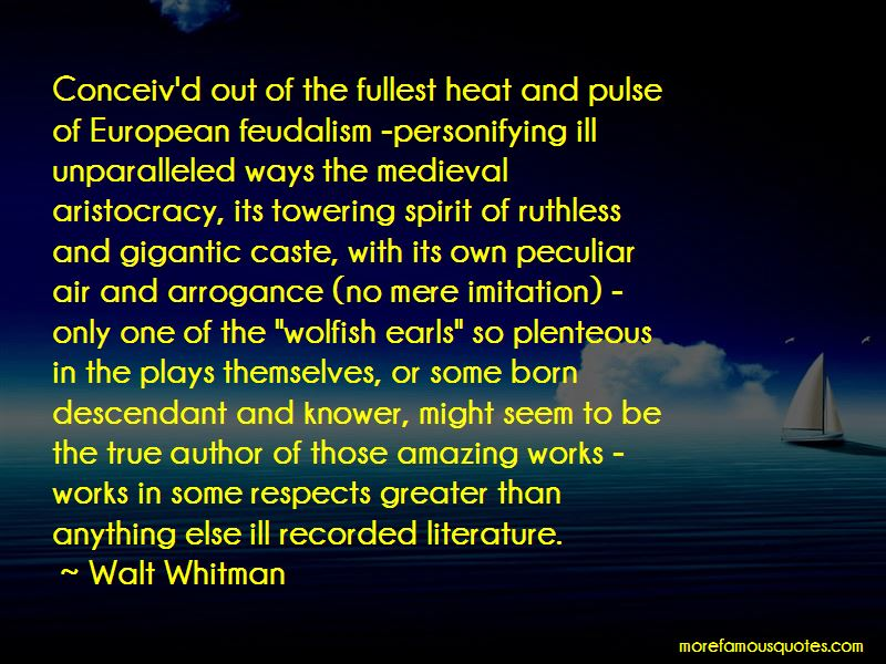 Quotes About European Feudalism