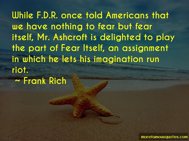 Fear Fdr Quotes Pictures 2