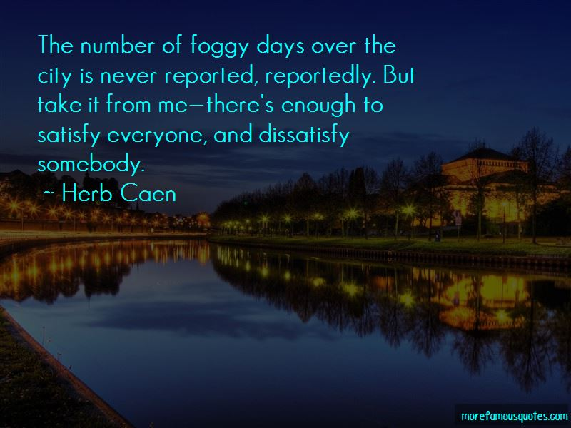 Quotes About Foggy Days