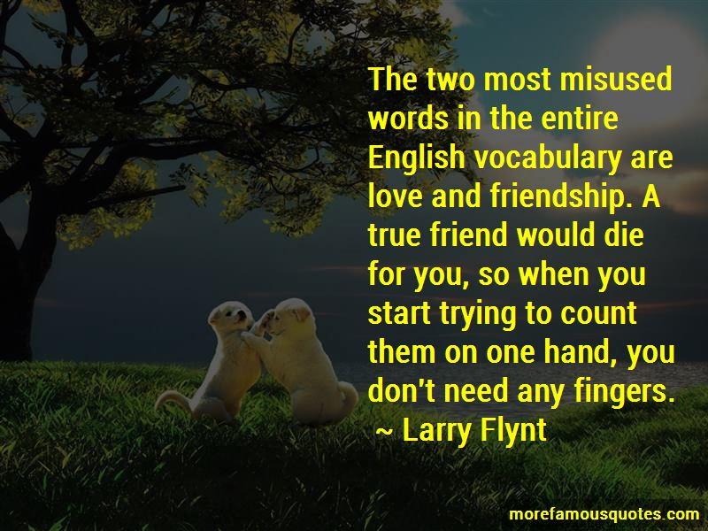 Quotes About Friendship And Love English