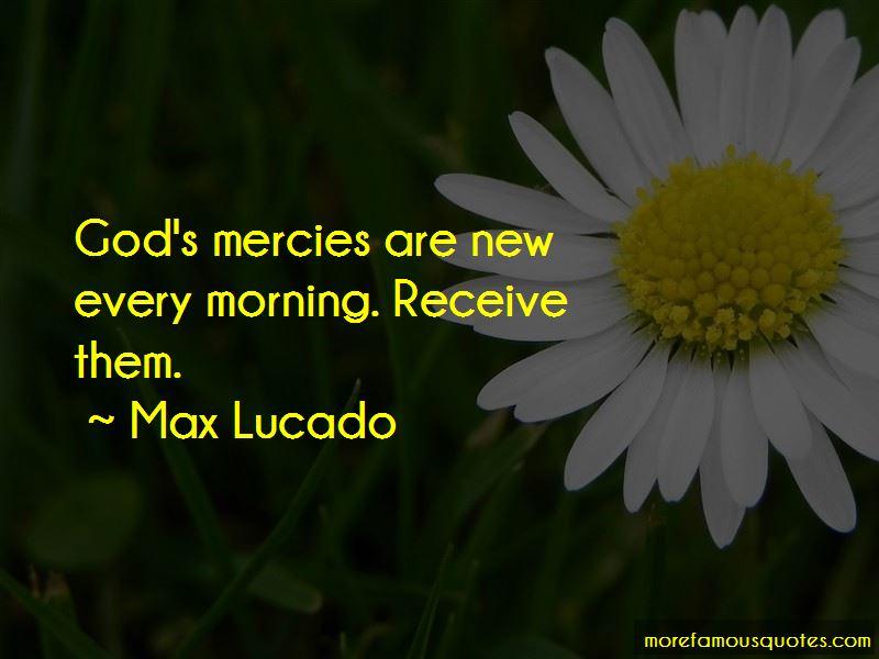 God's Mercies Quotes Pictures 3