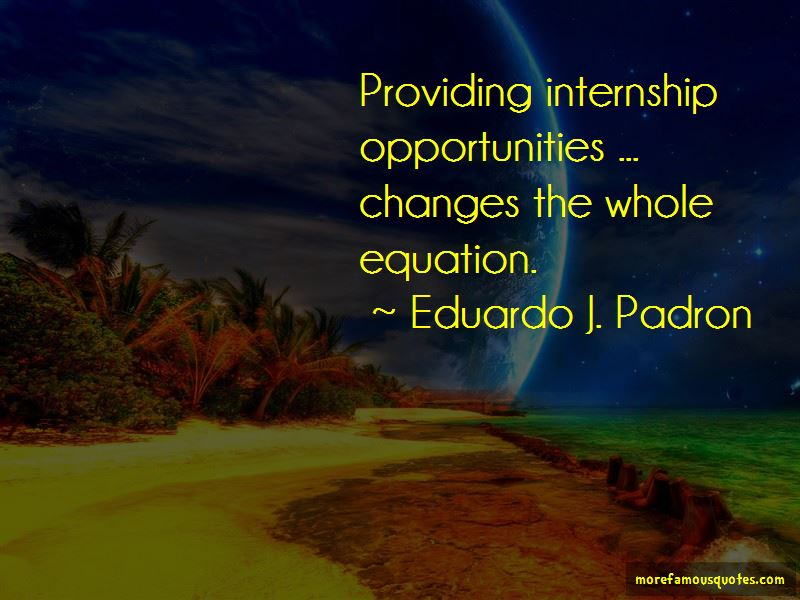 Quotes About Internship