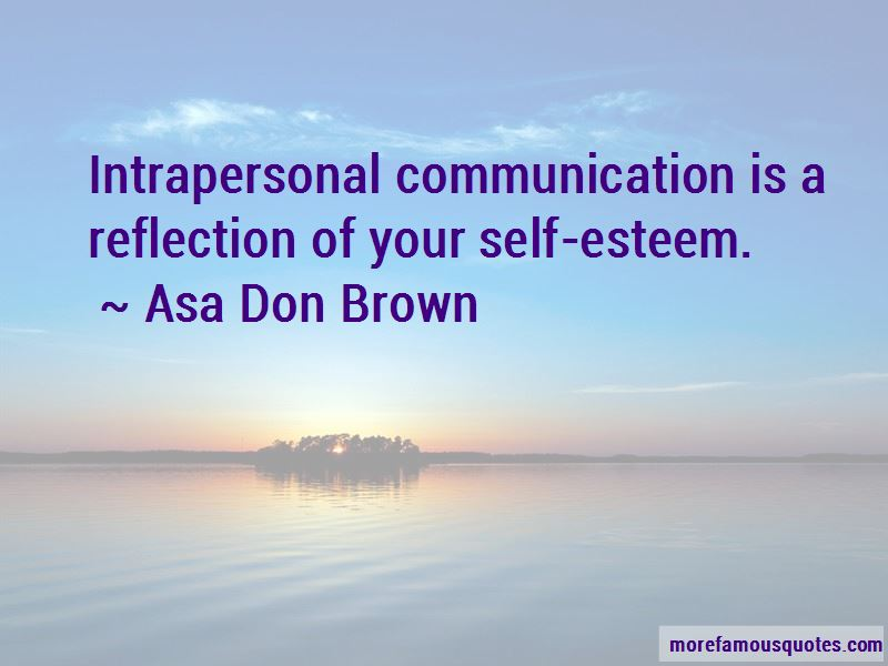 Quotes About Intrapersonal