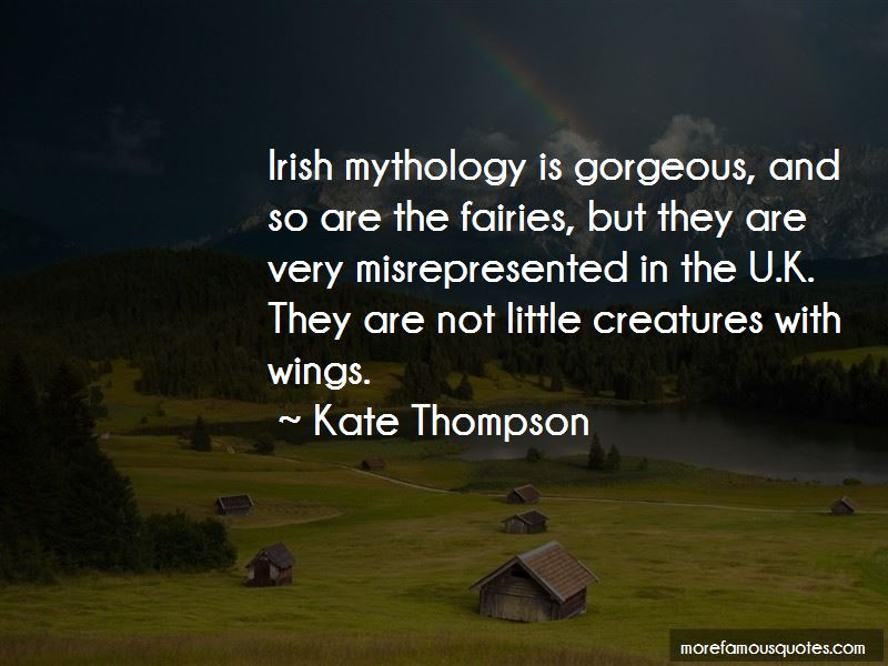Quotes About Irish Mythology