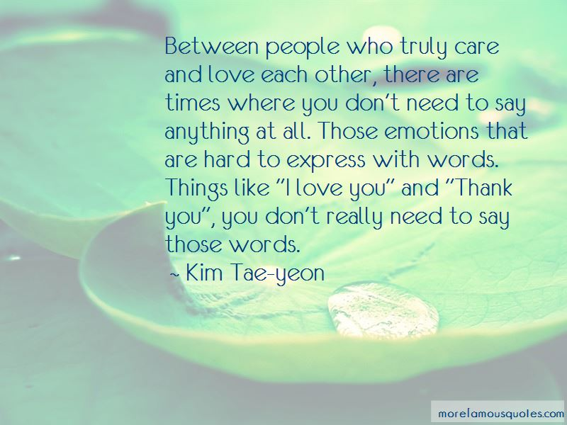 Quotes About Love And Hard Times