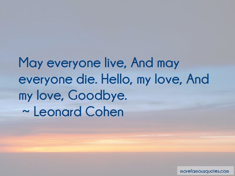 Quotes About Love Goodbye