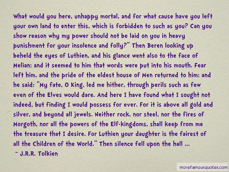 Quotes About Luthien