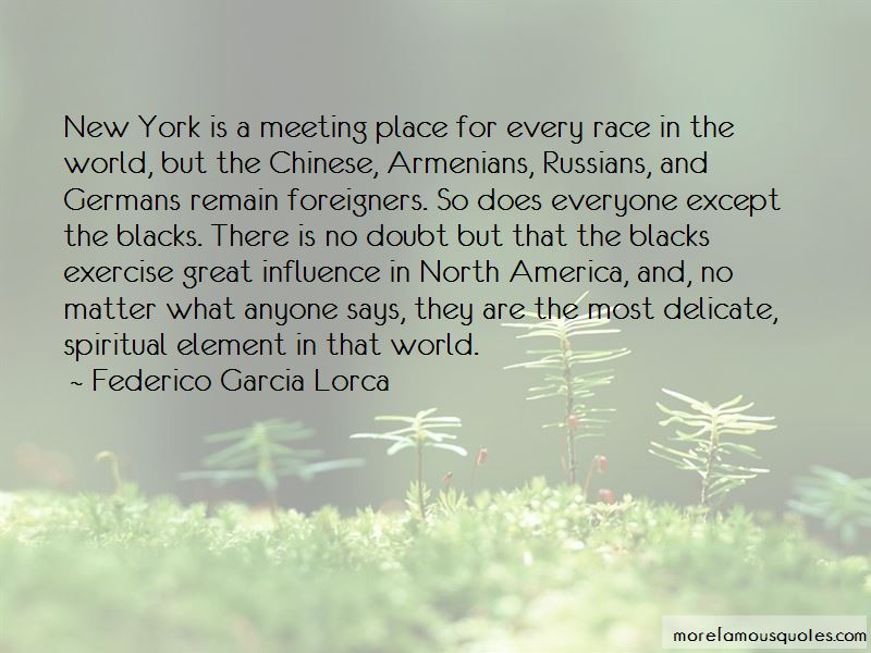 Quotes About Meeting Foreigners