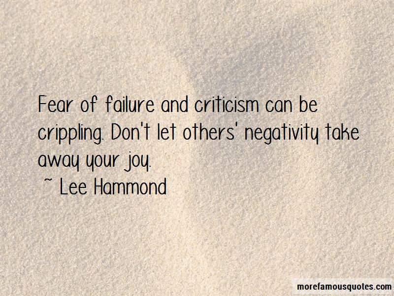Quotes About Others Negativity