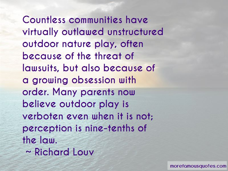 Quotes About Outdoor Play